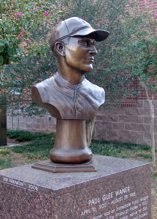 Paul Waner at the Bricktown Ballpark in OKC